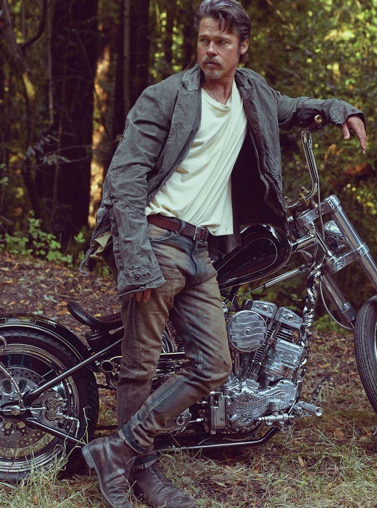 Brad Pitt, a Photo Portfolio Photos | GQ
