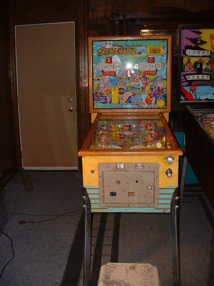 Serenade Williams 1960 Woodrail Pinball Machine - pinball ...