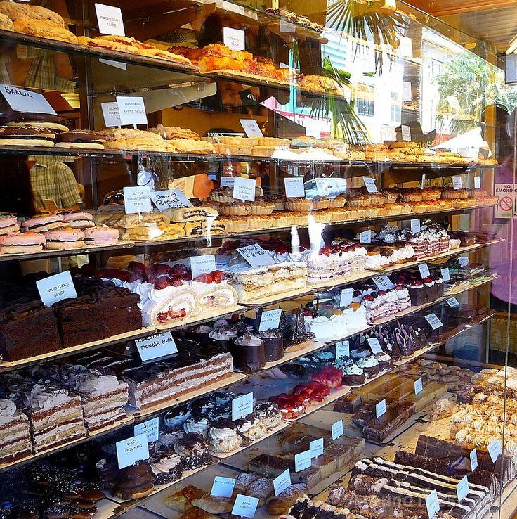 Acland Street cake shop