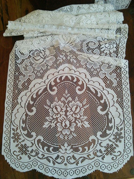 Check out this item in my Etsy shop https://www.etsy.com/listing/468565488/pair-2-pairs-avail-french-vintage-white