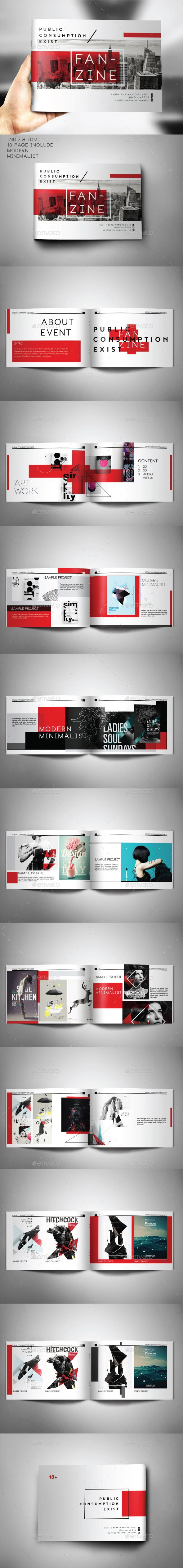 Portofolio Creative Artwork Template