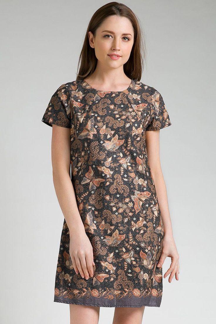 Krisan Batik Dress