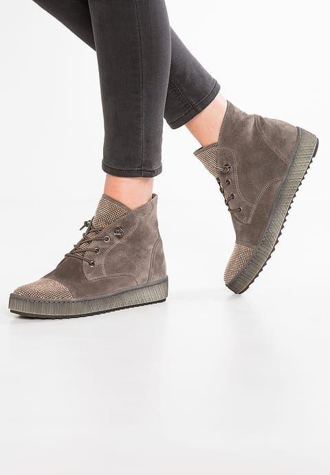 Soldes Gabor Boots à talons - wallaby gris: 98,00 € chez Zalando (au 09/02/18). Livraison et retours gratuits et service client gratuit au 0800 915 207.