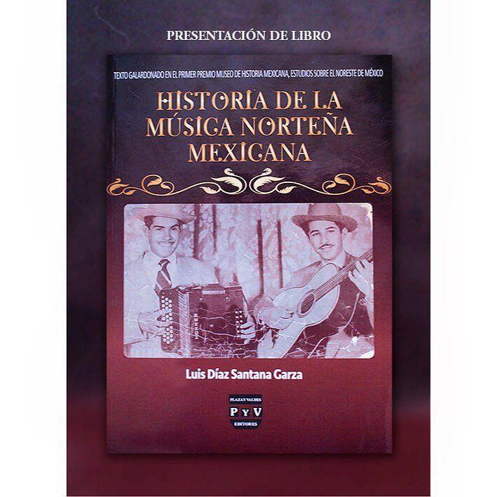 #EventoGratuito / 18 de agosto / #PresentacióndeLibro : Historia de la Música Norteña Mexicana / 19:30 horas / #MuseodeHistoriaMexicana @3museos