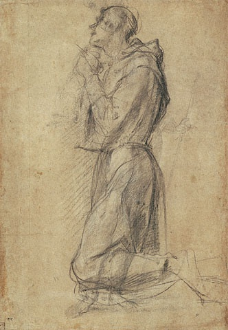 Study of Saint Francis (Getty Museum)