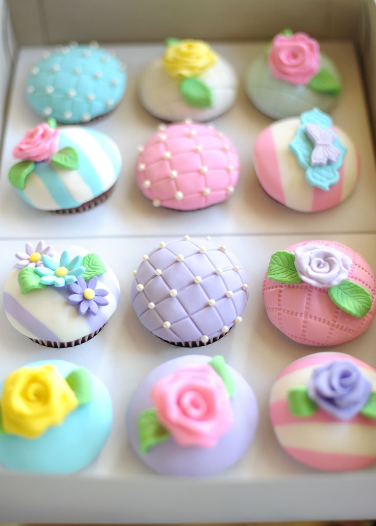 Cupcakes for a Tea Party