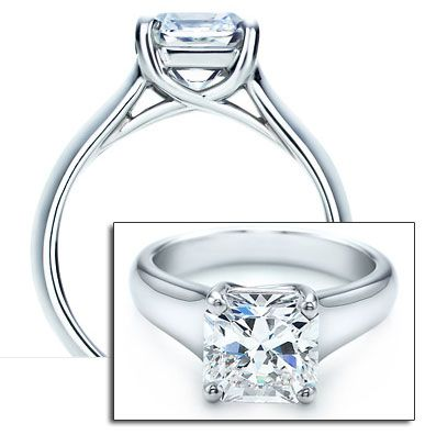 Fancy Timeless and Classy Tiffany Setting Engagement Ring