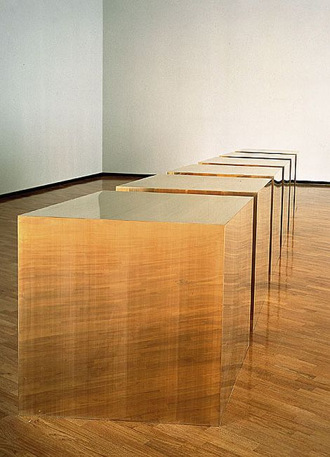 Donald Judd: Six Boxes