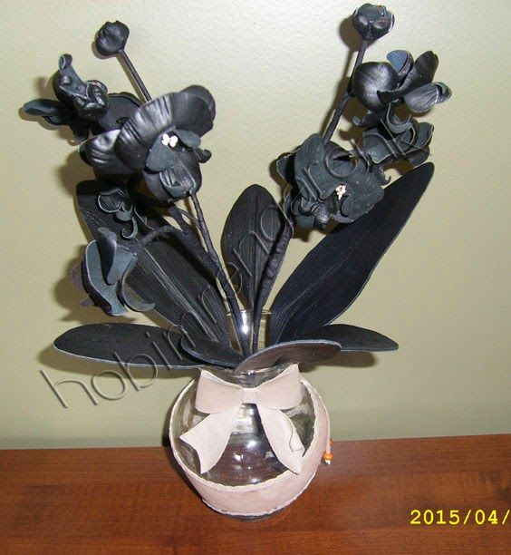 leather orchid