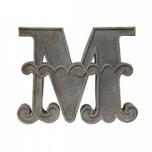 HK Living Metalen Letter Ornament M