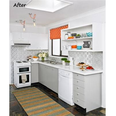 better homes gardens magazine featuring the original pressed metal panel for kitchen splashback - Better Homes And Gardens Kitchen Ideas