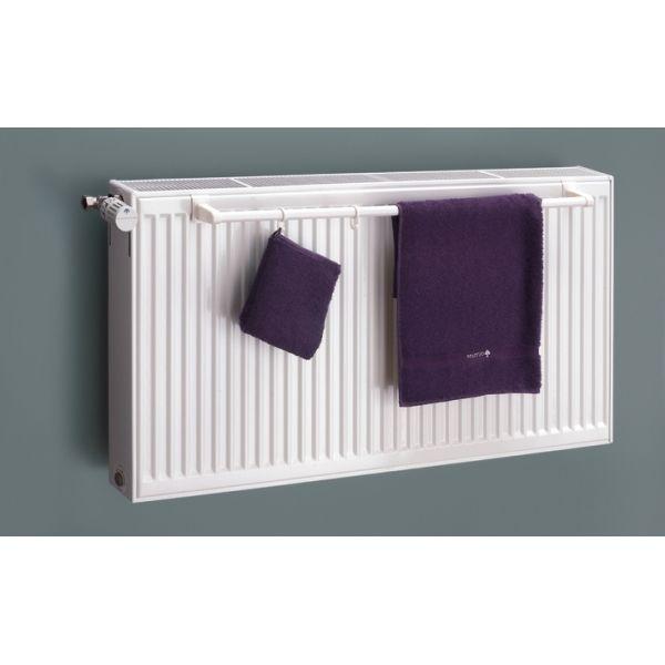 Mit Dem Handtuchhalter, Eigens Für Kompakt Heizkörper Hergestellt, Können  Sie Ganz Einfach Handtücher