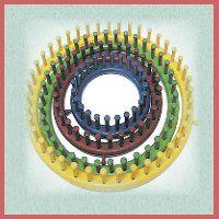 Video, tutorial et infos sur le tricotin long et rond
