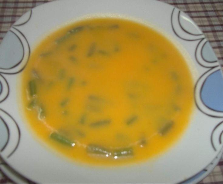 Receita Sopa de cenoura e feijão verde por inca - Categoria da receita Sopas