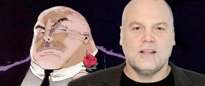 """Marvel has announced that Vincent D'Onofrio (Law & Order: Criminal Intent, Men in Black) has joined the cast of Daredevil, the upcoming live-action adaptation set to premiere on Netflix. D'Onofrio will be taking the role of Wilson Fisk, aka """"the Kingpin,"""" the """"powerful businessman whose interests in the future of Hell's Kitchen will bring him into conflict with the blind attorney Matt Murdock and his alter ego Daredevil."""""""