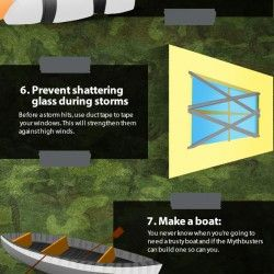 12 Survival Things You Can Make With Duct Tape | Visual.ly
