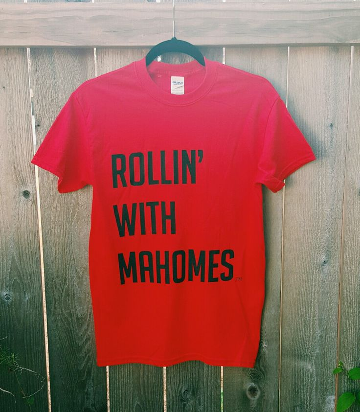 Texas Tech Rollin' with Mahomes™ T-Shirt – Oil Money Apparel