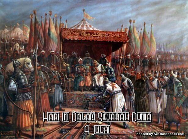 Peristiwa Penting Hari Ini Dalam Sejarah Dunia (4 Julai) http://ift.tt/2tH5O8d