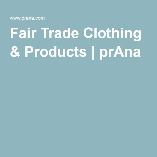 Fair Trade Clothing & Products | prAna