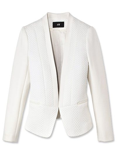 Shop 17 Black-and-White Pieces - H&M Blazer from #InStyle