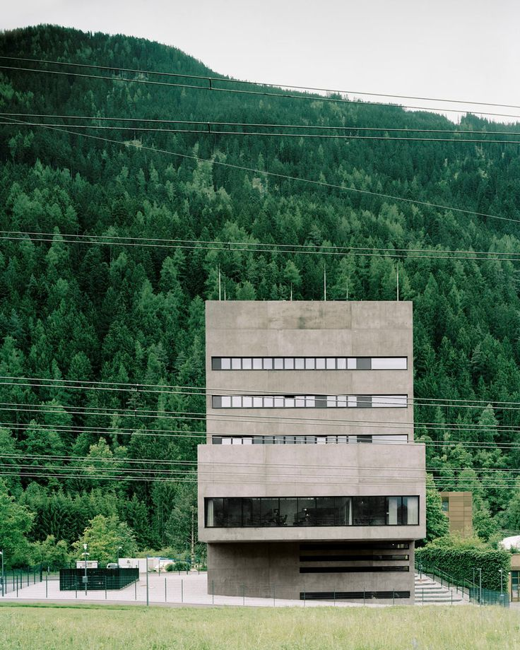 Kraftwerks-Leitstelle TIWAG in Silz - Beton - Industrie/Gewerbe - baunetzwissen.de