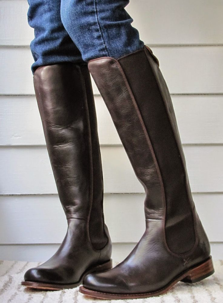 Howdy Slim Riding Boots For Thin Calves Frye Riding