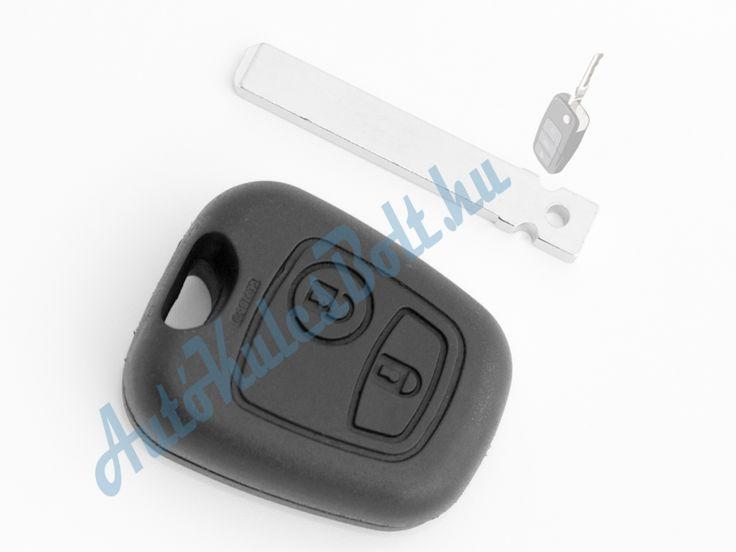 Citroen két (2) gombos kulcsház 307-es szárral. Elem, elektronika és immobiliser chip nélkül. Logót, márkajelzést nem tartalmaz.  Citroen két (2) gombos kulcsház 307-es szárral. Elem, elektronika és immobiliser chip nélkül. Logót, márkajelzést nem tartalmaz.  http://autokulcsbolt.hu/citroen-kulcshazak/citroen-ketgombos-kulcshaz-307-es-kulcsszarral
