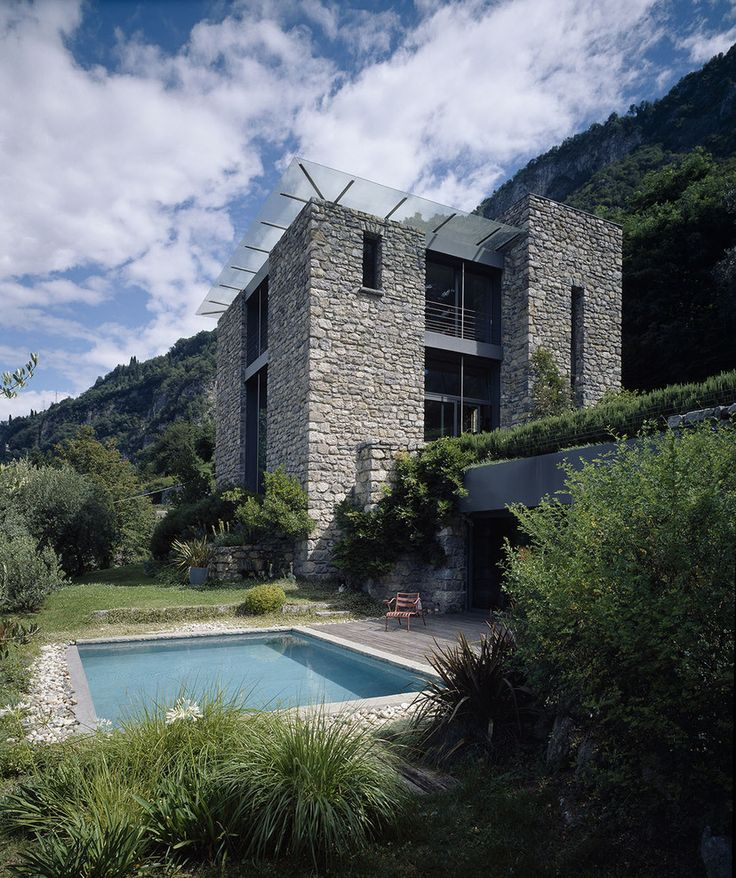 Best Italian Houses Images On Pinterest Architecture Italian - Contemporary purity and simplicity pool villa by jm architecture italy