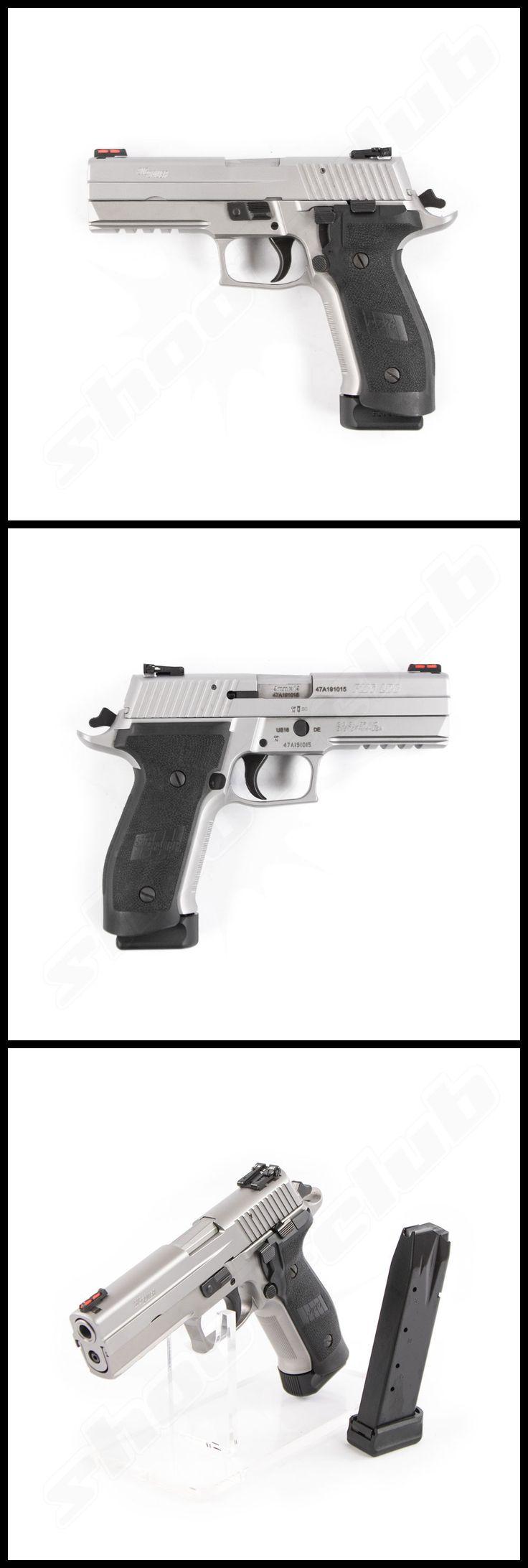 Pistole Sig Sauer P226 LDC 2 - Tacops Silber im Kaliber 9mm Luger www.shoot-club.de