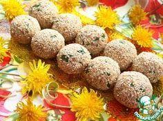 Салатные шарики с печенью трески - кулинарный рецепт