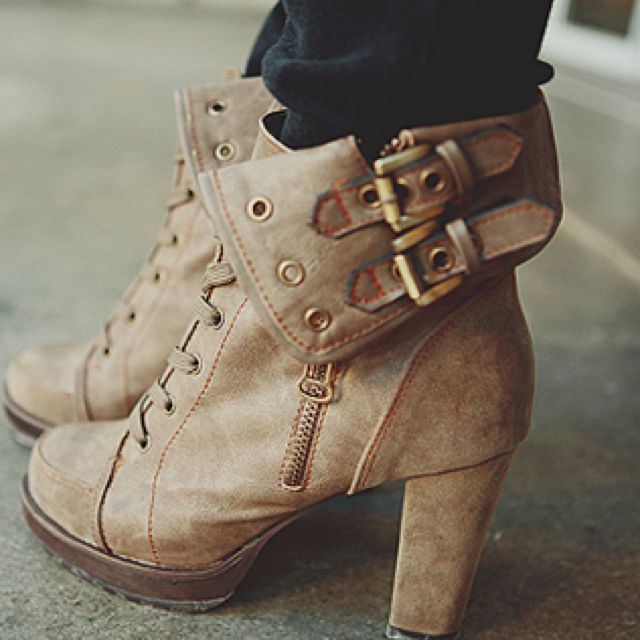 Booties for fall: