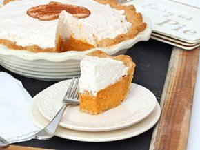 A scratch baked pumpkin cream pie that really is as