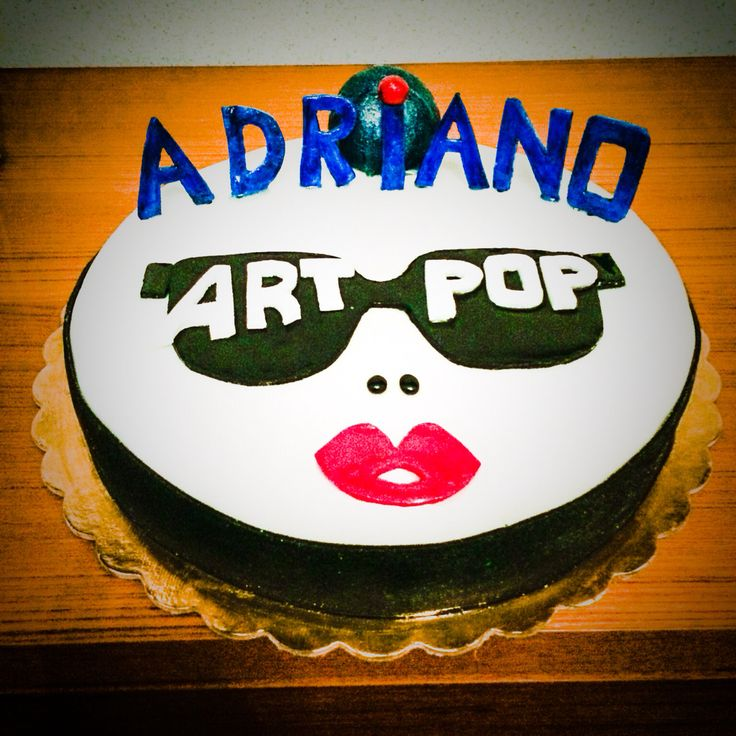 Lady Gaga Cake - Artpop