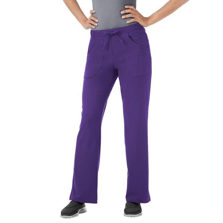 Plus Size Jockey Scrubs Classic Next Generation Comfy Pants, Purple