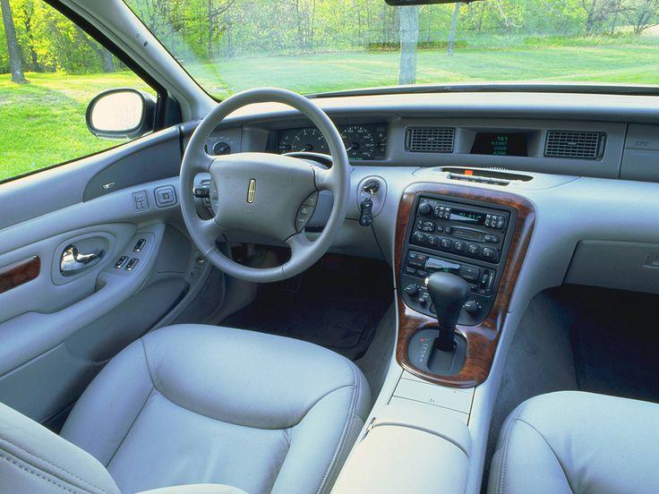 Lincoln Mark VIII | Dashboard Lincoln Mark VIII '1997–98