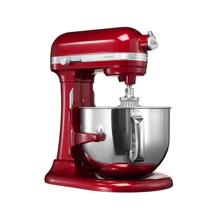 Kitchenaid küchenmaschine artisan rot 5ksm150pseer  Robot da cucina Artisan 1.3 HP rosso imperiale | Piccoli ...