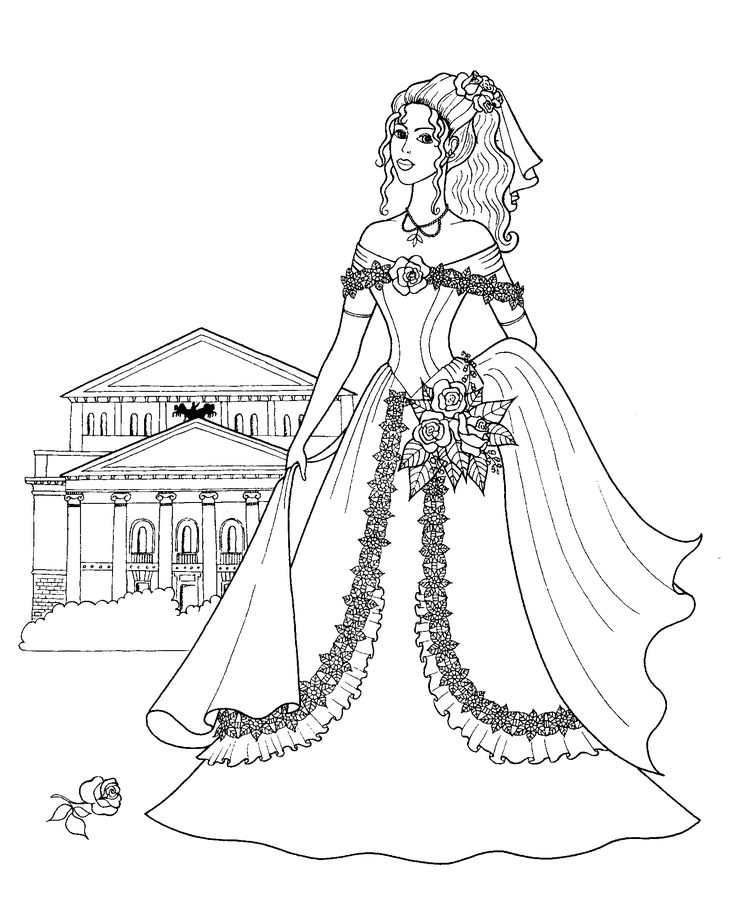 17 Best images about Wedding Coloring Pages on Pinterest