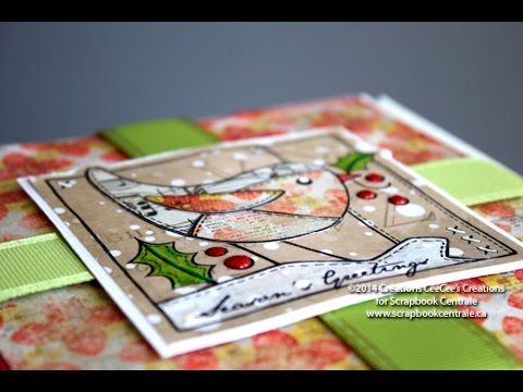 Scrapbook Centrale: Jour 4 * Douze Jours de Noël / Day 4 * Twelve Days of Christmas