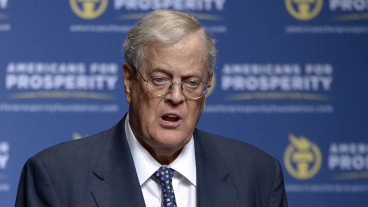 The political network led by industrialists Charles and David Koch plans to spend about as much money as the entire national Republican Party spent in the last presidential election cycle.