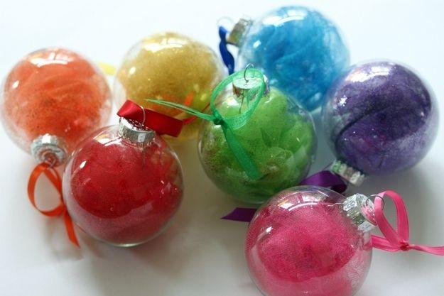 Tulle Rainbow Ornaments