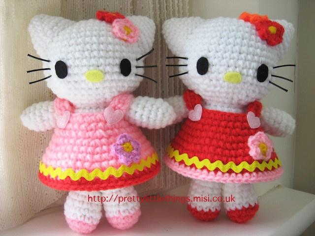 Amigurumi Cat Doll : 251 best hello kitty amigurumi images on pinterest amigurumi