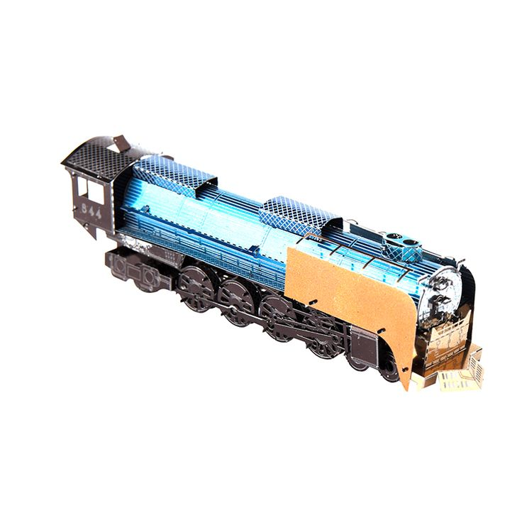 3D Metal Puzzles American locomotive For Children Adults Model Kids Toys for Children Jigsaw Metal Puzzle Educational Toys Train #Affiliate