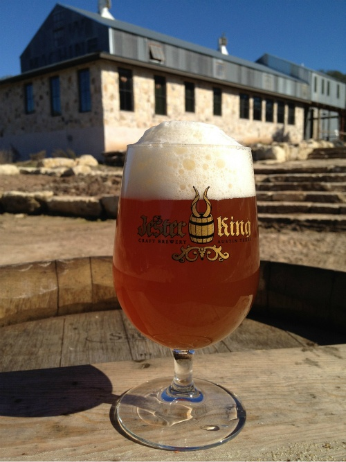 Jester King Brewery in Austin, TX.  These guys make some tasty beers.  #craftbeer #texas
