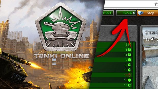 4 Ways to get free Crystals in Tanki Online