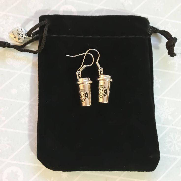Coffee Earrings, Dainty Earrings, Mom Gifts, Coffee Charm, Drink Earrings, Gift Ideas, Coffee Gift, Coffee Lover, Teacher Gifts, Bestfriends by MissFitBoutiqueCA on Etsy https://www.etsy.com/ca/listing/560717978/coffee-earrings-dainty-earrings-mom
