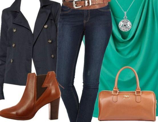 En ce lundi, c'est cette tenue à porter !  Achetez ici : http://stylefru.it/s711359 #hautvert