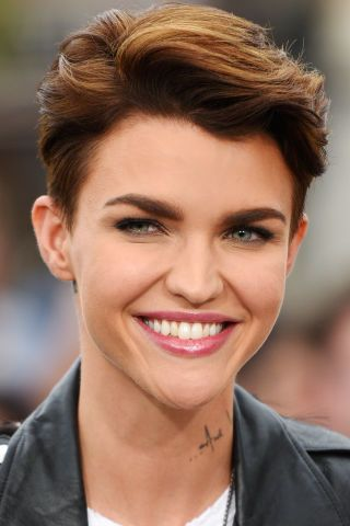 38 celebrity pixie haircuts to inspire your next visit to the hair salon: Ruby Rose