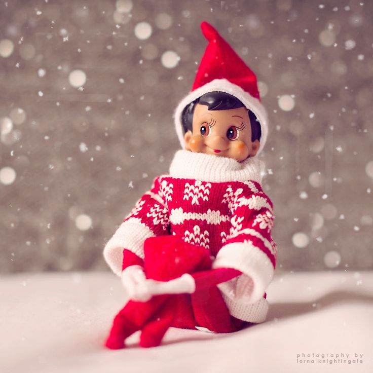 Eli has been moonlighting as an Elf Model for John Lewis stores. Lovely sweater.