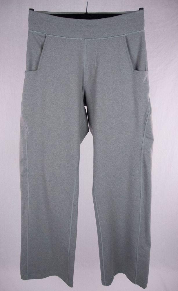 LULULEMON Mens Gray Sweat Pants Sz M