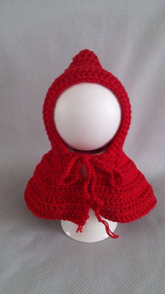 Roten befreien Haube häkeln Baby Motorhaube von LolasKnittingDreams